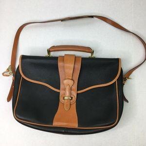 Dooney & Bourke Messenger Bag Black Pebbled All